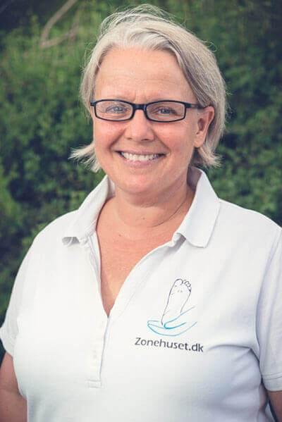 Sussi Rasmussen - Jeg tibyder zoneterapi, akupunktur, hypnose og muskulær massage.